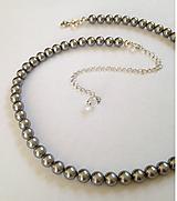 Náhrdelníky - perlový náhrdelník - 12023441_