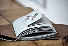 Papiernictvo - kožený fotoalbum DAAN - 12024862_