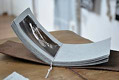 Papiernictvo - kožený fotoalbum DAAN - 12024878_