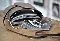 Papiernictvo - kožený fotoalbum DAAN - 12024884_