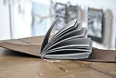 Papiernictvo - kožený fotoalbum DAAN - 12024886_