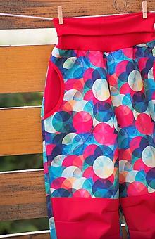 Detské oblečenie - Letné guličkové softshellky v 122 - 12024670_