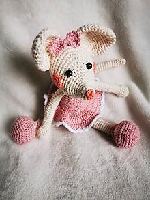 Hračky - Myška baletka - 12025280_