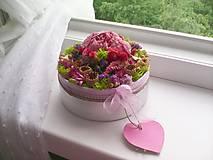 Dekorácie - Kvetinová krabička prírodná ... vôňa kvietkov ... - 12024813_