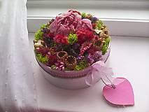 Dekorácie - Kvetinová krabička prírodná ... vôňa kvietkov ... - 12024814_