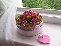Dekorácie - Kvetinová krabička prírodná ... vôňa kvietkov ... - 12024815_