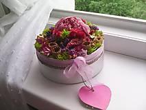 Dekorácie - Kvetinová krabička prírodná ... vôňa kvietkov ... - 12024816_