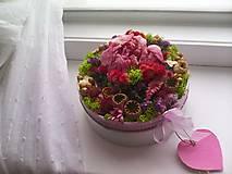 Dekorácie - Kvetinová krabička prírodná ... vôňa kvietkov ... - 12024817_