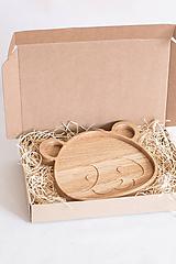 Nádoby - Drevená miska Panda - 12025320_