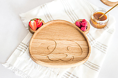 Nádoby - Drevená miska Panda - 12026237_