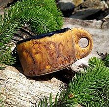 Nádoby - Keramická šáločka na kávu - 12024788_