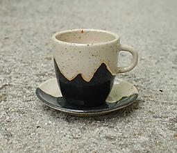 Nádoby - Espresso set *Zlatý horizont I.* - 12026689_