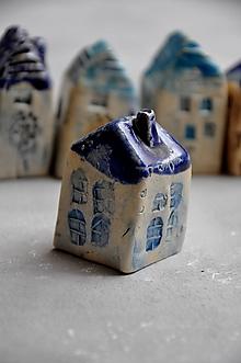 Dekorácie - dom domček dekorácia (komín) - 12024582_