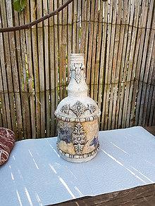 Nádoby - Vintage fľaša - 12025711_