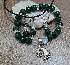 Sady šperkov - Ochranný šperk pre tehuľky - 12025295_