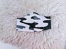Rúška - Ochranné rúško na tvár maskáčové rôzne veľkosti - 12028414_