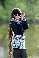 Mikiny - Mikina/ šaty KALEI - 12027055_