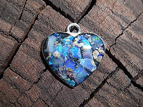 Náhrdelníky - opals in your heart-for happy - 12030753_