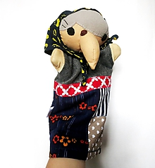 Hračky - Maňuška ježibaba - Bosorka od Polnočnej lúky - 12027698_