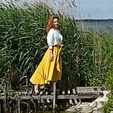 Sukne - LUCY - asymetrická maxi sukňa - 12030641_