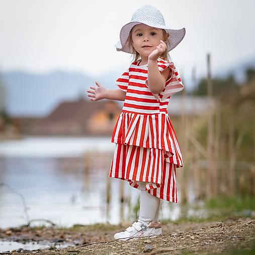 Detské oblečenie - Šaty - strawberry - 12030969_