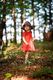 Detské oblečenie - Šaty red organic - 12030991_
