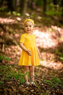Detské oblečenie - Šaty hello summer organic - 12031023_