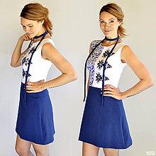 Šaty - Blue Milena - 12027578_