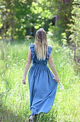 Šaty - maxi šaty Klára - 12027230_