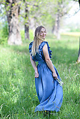 Šaty - maxi šaty Klára - 12027244_