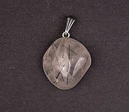 Iné šperky - Krištáľ skoryl p538 - 12029443_