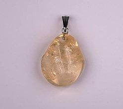 Iné šperky - Citrín p545 - 12029503_