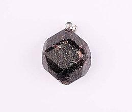 Iné šperky - Granát červený p561 - 12029598_