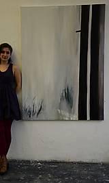 Obrazy - Hmla za oknom (séria Slepé okno) - 12027778_