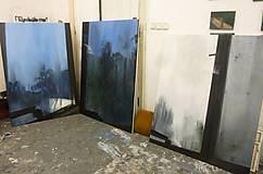 Obrazy - Hmla za oknom (séria Slepé okno) - 12027781_