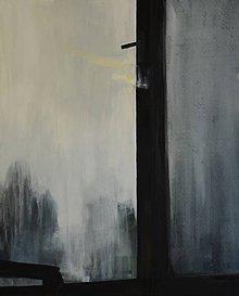 Obrazy - Hmla za oknom (séria Slepé okno) - 12027777_