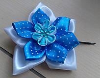Mašlička do vlasov (Modrá)