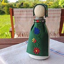 Bábiky - Slovenská ľudová bábika 4 - 12027136_