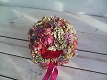 Dekorácie - Kvetinová krabička prírodná ... láska je tu s nami ... - 12033025_