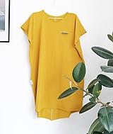 Šaty - EVA žlté - 12031743_
