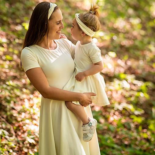 Šaty - Dámske šaty - light ecru organic - 12032157_