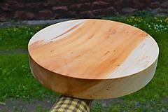 Pomôcky - Okrúhla doska na krájanie či jedenie 02 - 12032149_