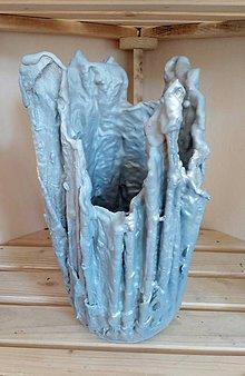 Nádoby - Betónový handmade obal - 12031447_