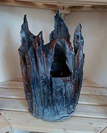 Nádoby - Betónový handmade obal - 12031449_