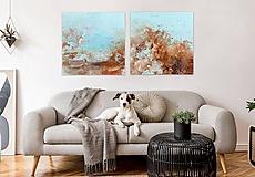 Obrazy - Séria Pobrežie Piesku, 160x80, abstraktné obrazy - 12033293_