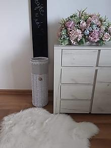 Košíky - Stojan na dáždniky s kovovou vložkou - 12032055_