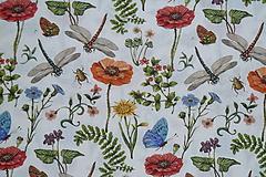 Textil - Látka Farebná lúka - 12036006_