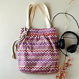 Veľké tašky - Shopper - Fialová - 12034482_