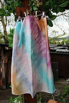 Šatky - silk scarf_hodvábna šatka_multicoloured - 12035779_