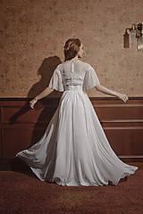Šaty - Svadobné šaty s hrubou krajkou a tylovou sukňou SKLADOM - 12034089_